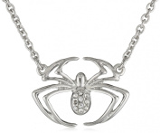 Marvel Comics Spider-Man Crystal Spider Pendant Necklace, 45.7cm