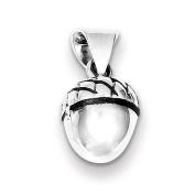 Sterling Silver Acorn Pendant