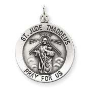 Sterling Silver St. Jude Thaddeus Medal