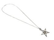 Two-tone Double Pentagram Pendant / Necklace