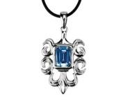 Fleur Pendant - Collectible Medallion Necklace Accessory Jewellery