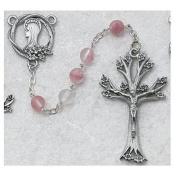Pewter Dogwood Rosary