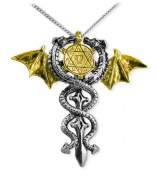 Seal of Dragons Amulet Necklace