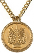 Janus 2-sided Coin Pendant