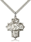 St. Philomena, St. Theresa, St. Rita, St. Anthony, St. Jude Medal, Sterling Silver