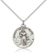 St. Joan of Arc Medal, Sterling Silver