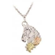 Black Hills Gold Necklace - Horse
