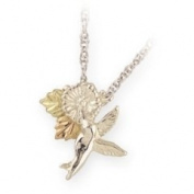 Black Hills Gold Necklace - Hummingbird