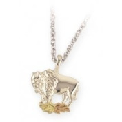 Black Hills Gold Necklace - Buffalo
