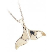 Black Hills Gold Necklace - Whale Tail