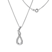 Hot Diamonds Curl Pendant, Sterling Silver
