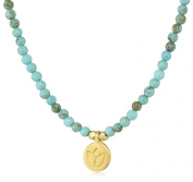 Satya Jewellery Turquoise Mini Lotus Necklace