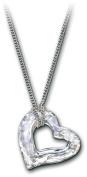 . Mini Loveheart Crystal DTL Pendant