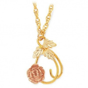 Black Hills Gold Necklace - Rose Necklace