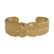 Hawaiian Heirloom Jewellery 14k Gold Finish Toe Ring