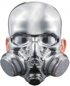 Costumes For All Occasions DG39333 Bio-Hazard Chrome