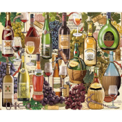 Jigsaw Puzzle 1000 Pieces 60cm x 80cm -Wine Country
