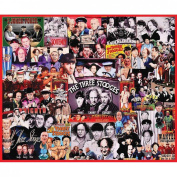 White Mountain Puzzles The Three Stooges Jigsaw Puzzle, 1000-pieces