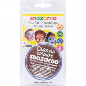 Snazaroo Face Paint 18ml-Light Brown