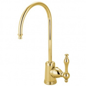 Gourmetier KS7192NL Naples Water Filtration Faucet, Polished Brass