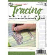 Essentials Tracing Artist Paper Pad 13cm x 18cm -24 Sheets