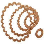 Spellbinders Nestabilities Dies-Classic Scallop Ovals Small