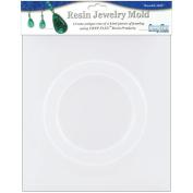 Resin Jewellery Reusable Plastic Mould, Bangle Bracelet, .60cm x .60cm x 6.7cm