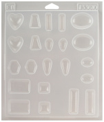 Environmental Technologies ETI33610 Castin Craft Jewelry Plastic Mold 7-1/4X8-1/4X1/2
