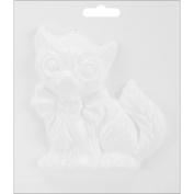 Plaster Casting Plastic Mould 15cm x 15cm -Cat
