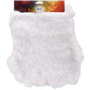 Rabbit Skins 30cm x 36cm , Snow White