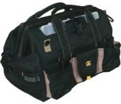 CLC 1535 37 POCKET 18 TOTE BAG W/ TOP-SIDE PLASTIC TRAY