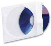 Compucessory Compucessory CD-DVD Window Envelopes 5 in.x5 in. 100 EA-BX White