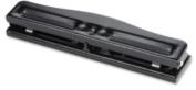 3-Hole Punch,Adjustable,9/32 Hole Size,8-10 Sht Cap.,Black. 24 EA/CT.