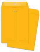 "Clasp Envelopes, Heavy-Duty, 9-1/2""x12-1/2"", 100/BX, BKFT. 100 EA/BX."