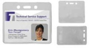 "Badge Holders,Heavy-Duty,Vertical,100/BX,2-3/8""x3-3/8"". ."