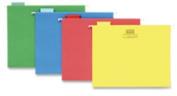 Hanging Folder, 1/5 Tab Cut, Letter, 25/BX, Assorted. 10 BX/CT.