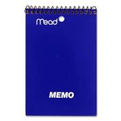 "Coil Memo Book, Ruled, Top Wire Binding, 40 Pg, 12/PK, 4""x6"". 12 EA/PK."