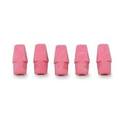 Integra Pencil Cap Eraser for Standard Pencils, 144 per Box, Pink