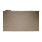 Hanging Folder, 11 Pt., 1/5 Cut, Legal, 25/BX, Green. 25 EA/BX.