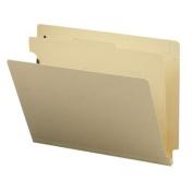 """Medical File Folder,2"""" Fasteners,11 Pt, Letter,50/BX,Manila. 40 EA/BX."""