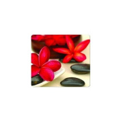 """Recycled Mouse Pad, 9""""x8""""x1/16"""", Spa Flowers. 6 EA/CT."""