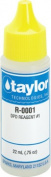 3/4 Oz Pool Reagent #1, Chlorine Tester