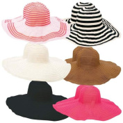 Casual Outfitters GFHATF12 Casual Outfitters Assort Ladies Floppy Sun Hats