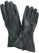 Diamond Plate Solid Genuine Leather Gloves- XLarge