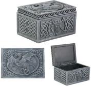 YTC SUMMIT 6303 Dragon Celtic Jewellery Box - C-24