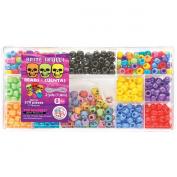 The Beadery Bead Box Kit 579 Beads Brite Skulls