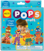 Alex Toys Pops Craft, Paper Chain Monsters