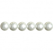 Cousin 34722102 Jewelry Basics Pearl Beads 10mm 58-Pkg-White