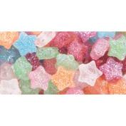 Cousin 34734128 Fun Pack Star Beads 125-Pkg-Multi Glitter
