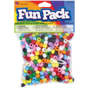 Cousin 34734130 Fun Pack Mini Pony Beads 650-Pkg-Assorted Colors